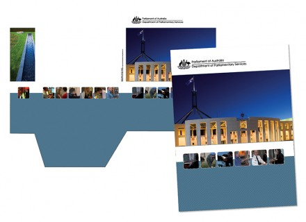 Department of Parliamentary Services display folder