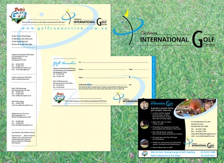 Canberra International Golf Centre Stationery